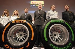 New Pirelli Formula 1 Racing Tires
