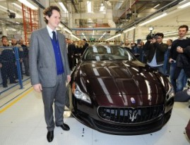 New Maserati Factory near Torino