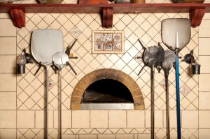 wood fire pizza oven
