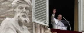 First Angelus by Pope Francis