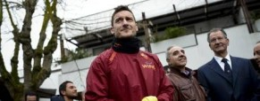 Totti 20th with AS Roma